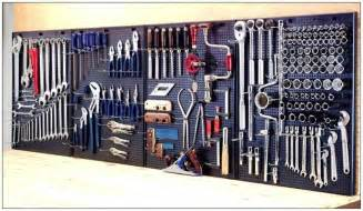 homemade garage tools car interior design wall control tool organizer pegboard galvanized steel