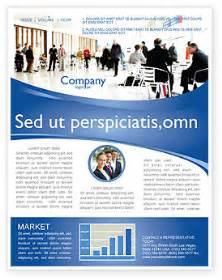 Business Newsletter Templates by Business Environment Newsletter Template For Microsoft