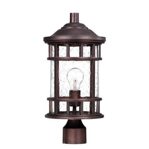 Architectural Outdoor Lighting Acclaim Lighting New Vista 1 Light Architectural Bronze Outdoor Post Lantern 31947abz The Home
