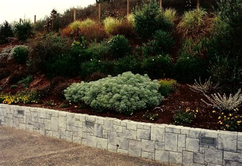 Retaining Wall Landscaping Ideas Hillside Landscape Design Construction Residential Landscape Design Construction