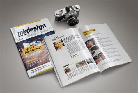 professional magazine template inkdesign age themes