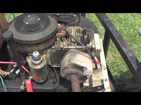how to test lawn mower capacitor installing and adjusting points and condenser on briggs and stratton engines tutorial how to