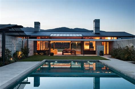 escapism in new zealand beautiful home with wood and