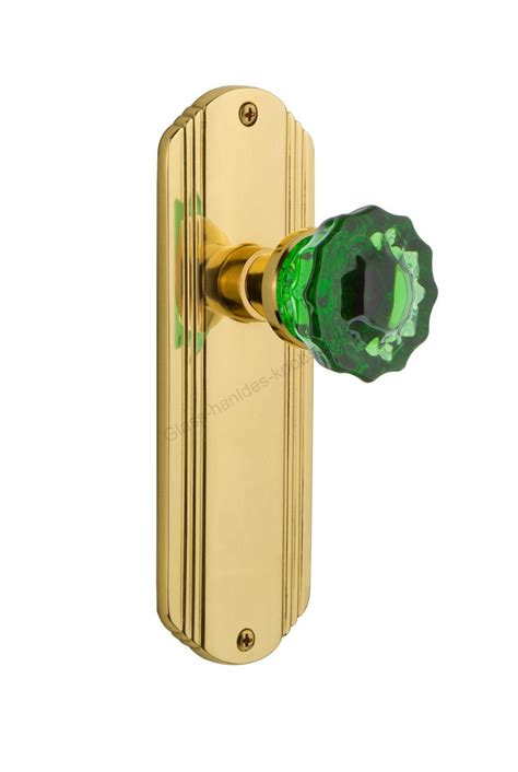 Glass Privacy Door Knobs by A Door Knob Manufacture Supplier 724392 Deco Plate