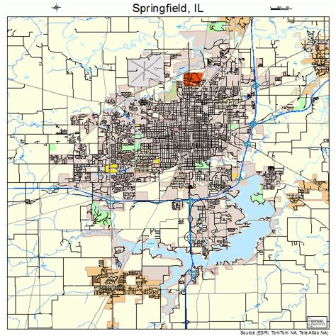 springfield il map springfield il on map afputra