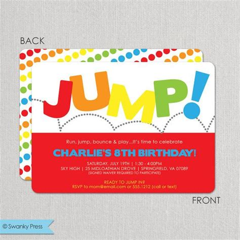 sky high sports birthday party youtube