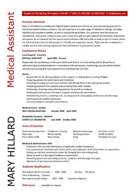 Medical Assistant Sample Resumes by 10 Medical Assistant Resume Tips Writing Resume Sample