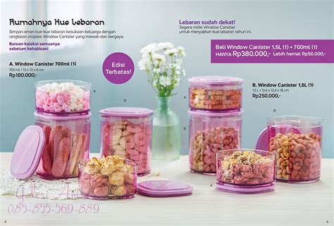 Window Canester Tupperware window canister 1 5l tupperware tupperware terbaru