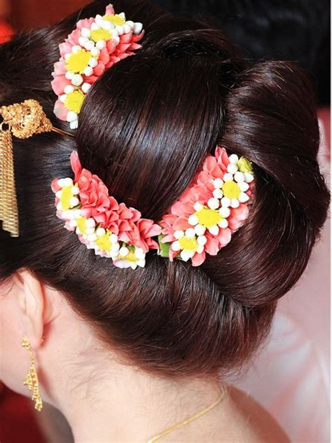 hair cut for ladies in garland 28 best south indian bridal hair images on pinterest