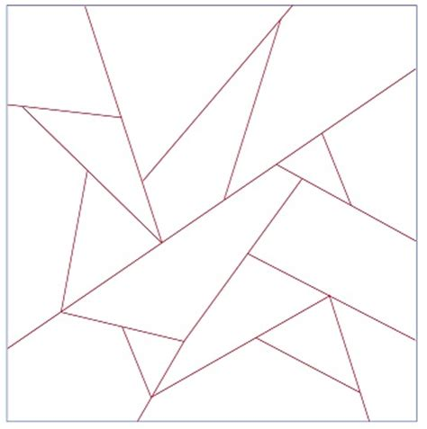 Origami Crane Quilt Pattern - paper piecing help needed