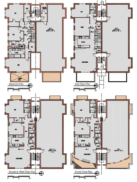 8 unit apartment building plans 8 unit apartment building plans foster dale architects