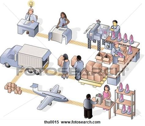 manufacturing clipart production process clipart