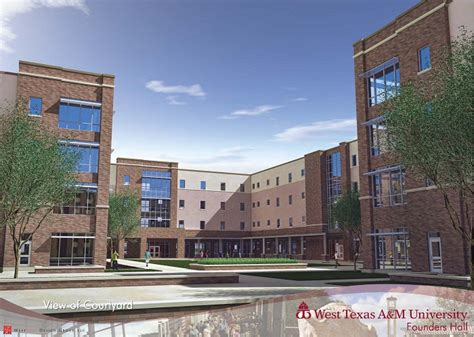 West Texas A&M University: Residential Living   Founders Hall