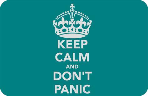keep calm amp don t panic tattooed tealady
