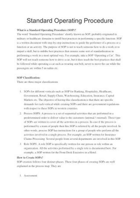 Ppt Standard Operating Procedure Template Powerpoint Presentation Id 7198884 Sop Powerpoint Template