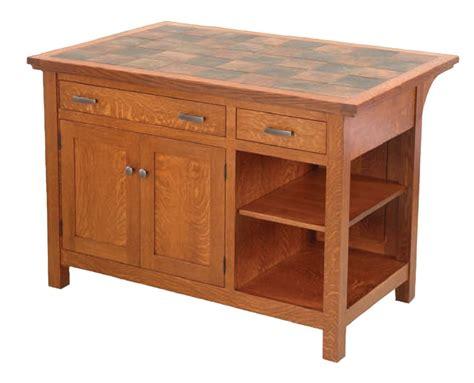 mission kitchen island brookline mission island 801 ohio hardwood furniture