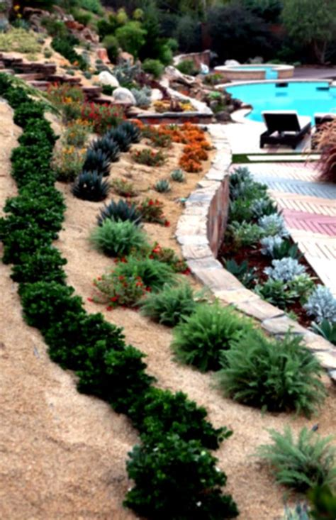landscaping a hill in backyard landscape on a hill backyard izvipi com