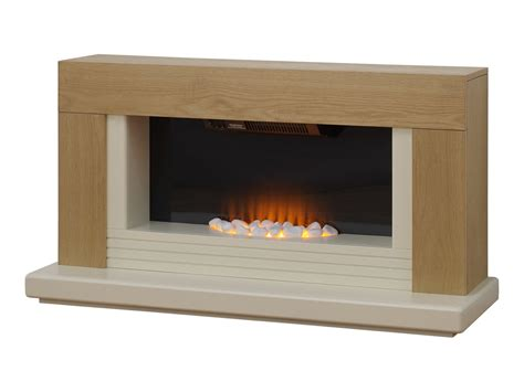 Freestanding Electric Fireplace Adam Fireplace Suite In Oak 48 Inch Fireplace World