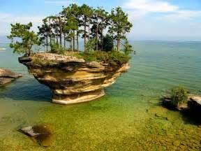 Turnip Rock Port Wikiworldpedia Turnip Rock Port Michigan