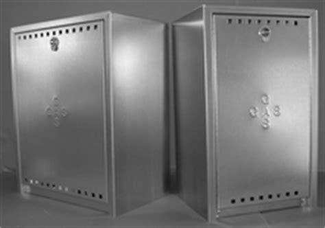 cassette gas metano fulco cassette e sportelli zincati per alloggiamento