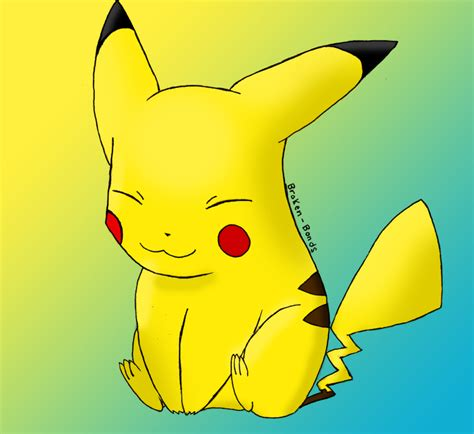 what color is pikachu pikachu color by quantum on deviantart