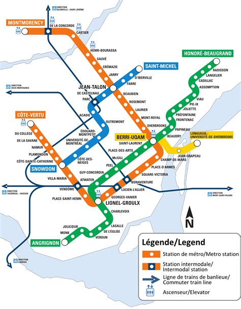 metro maps montreal metro map canada