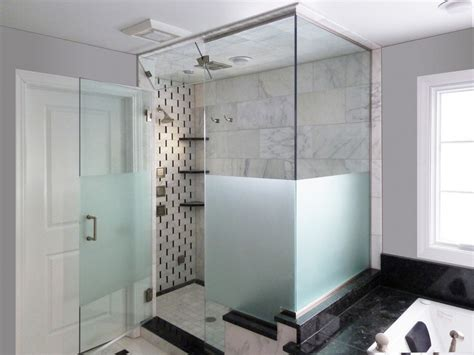Steam Shower Etched Sandblasted Shower Doors Creative Sandblasted Glass Shower Doors