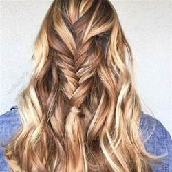 Ombre Hair Brown Caramel