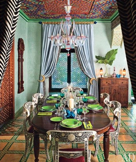 indian themed dining room 39 original boho chic dining room designs digsdigs