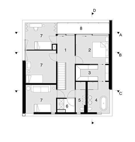 villa siena floor plans gallery of villa s2 marc architects 24