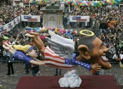Pc Free Zone Parade Float Shows Executing Clinton Americans Are