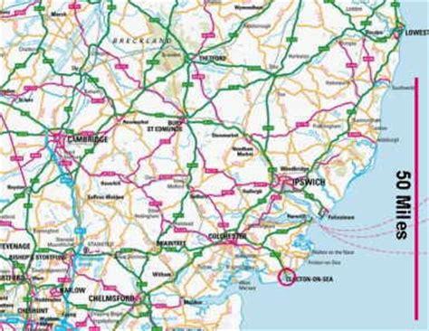clacton on sea map clacton on sea map and clacton on sea satellite image