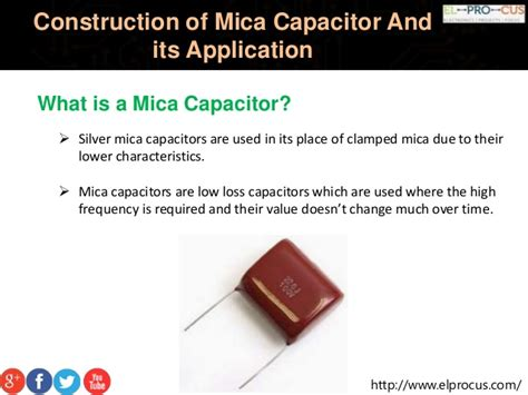 define capacitor value construction of mica capacitor and its application