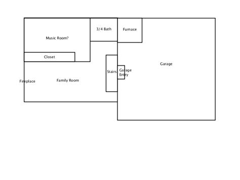 layout of house basic house layout