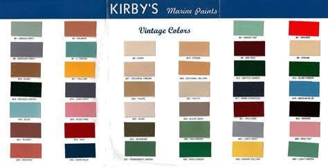 food color combinations food color combinations kirby s vintage color chart