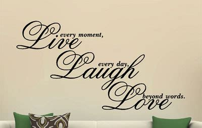 love live laugh live laugh love vinyl decal wall art sticker quote saying