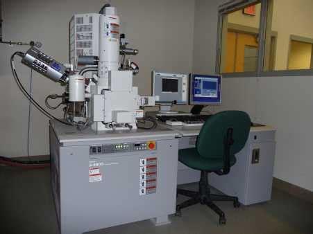 hitachi   high resolution scanning electron microscope