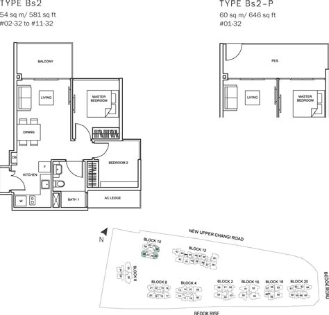 The Glades Singapore New Condo Launch In Tanah Merah 54 Sqm House Plans