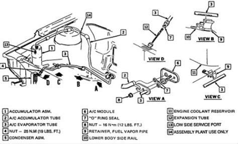 1992 Chevy Cavalier Orifice Tubing Air Conditioning
