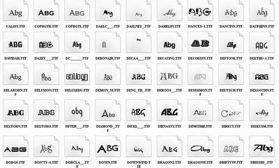 font keren untuk desain kaos distro kumpulan font distro untuk desain photoshop dunia desain