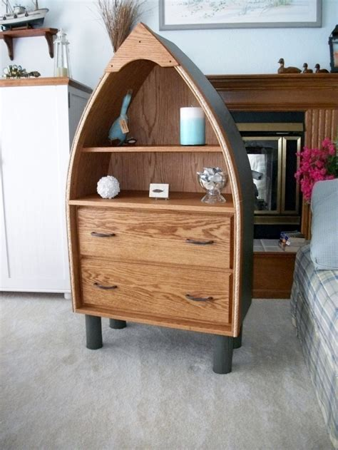 boat shaped bookcase boat shaped bookcase furniture woodworking projects plans