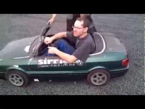 Kinderauto Eigenbau by Audi 80 Cabrio Mini Kinderauto Carousel Car