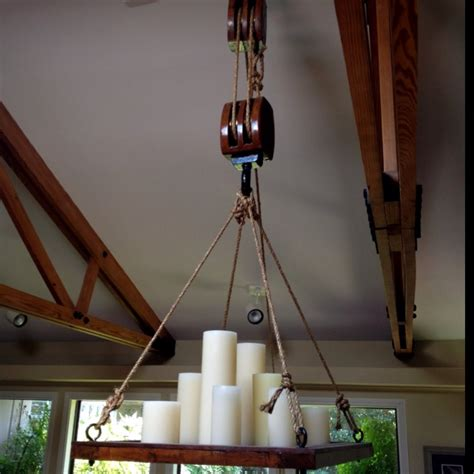 Chandelier Pulley System 1000 Images About Old Block Amp Tackle On Pinterest