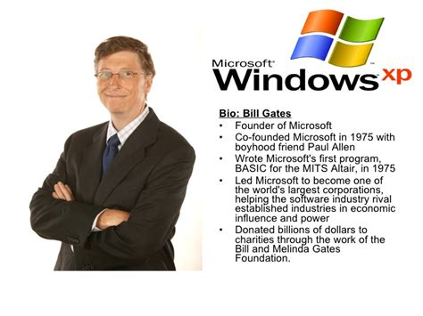 biography bill gates sultan of software famous computer people