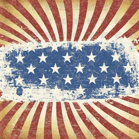american flag backgrounds grunge american flag background vector image vector