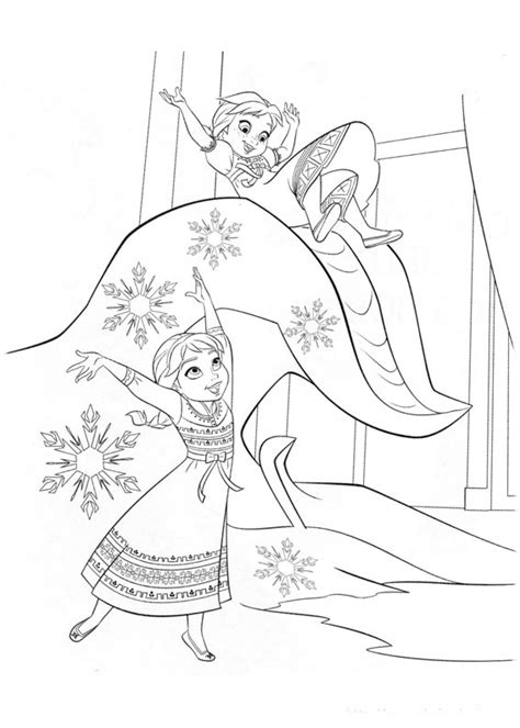 frozen winter coloring pages frozen para colorear pintar e imprimir