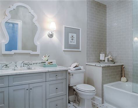 gray bathrooms ideas family home with neutral interiors home bunch