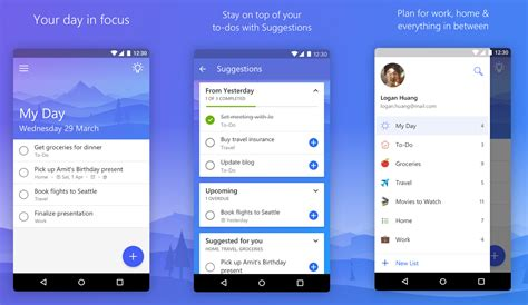 to do list app android microsoft to do app for android updated with improved search more mspoweruser
