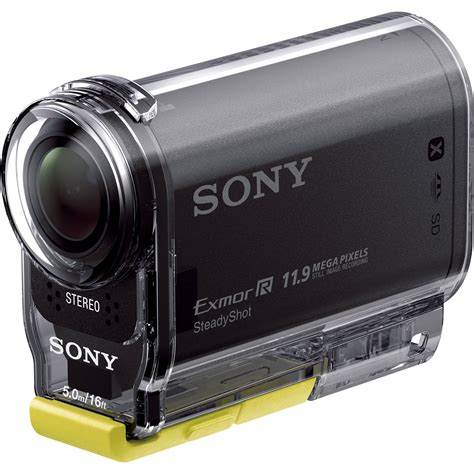 sony hdr as20 hd hdras20 b b h photo