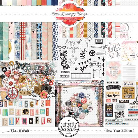 new year edition the lilypad bundles collections butterfly basics